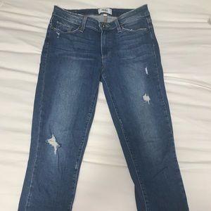 Hoxton crop Paige jeans size 27